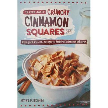 Trader Joe's – Crunchy Cinnamon Squares Cereal – Net Wt. 12.2 Oz (346g)