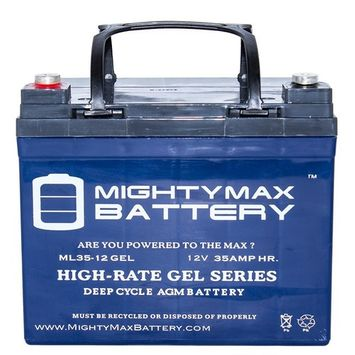 MIGHTY MAX BATTERY 12-Volt 35 Ah Rechargeable GEL Sealed Lead Acid (SLA) Battery