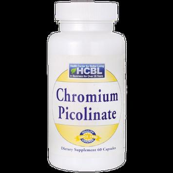 HCBL Chromium Picolinate 200 mcg 60 Caps