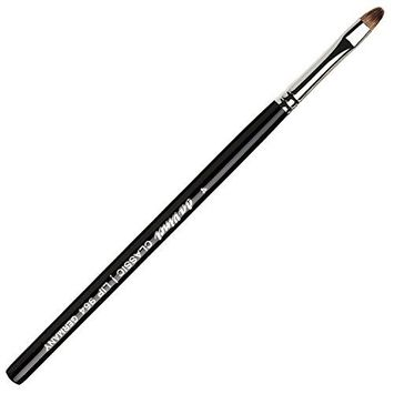 da Vinci Cosmetics Series 964 Classic Lip Brush, Oval Russian Red Sable, Size 4, 11.6 Gram [Classic, Oval]