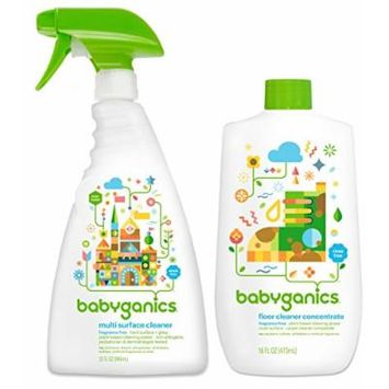 Babyganics Multi Surface Cleaner with Floor Cleaner