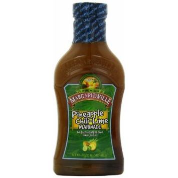 Margaritaville Marinade, Pineapple Chili Lime, 17 Ounce (Pack of 6)
