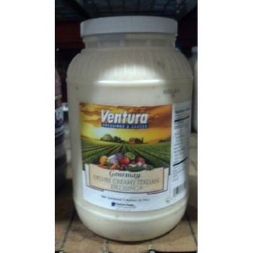 Ventura Gourmay: Deluxe Creamy Italian Dressing 1 Gallon (4 Pack)