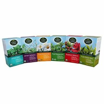 Garden of the Andes Organic Tea Variety Pack, 20 Count (Pack of 6)