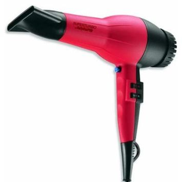 BaByliss Pro Turbo Hair Blow Dryer with Powerful 2000 Watt SuperTurbo AC Motor, Instant Cold Shot Button and 4 Temperature Settings, 8 mm Concentrator Nozzle Included