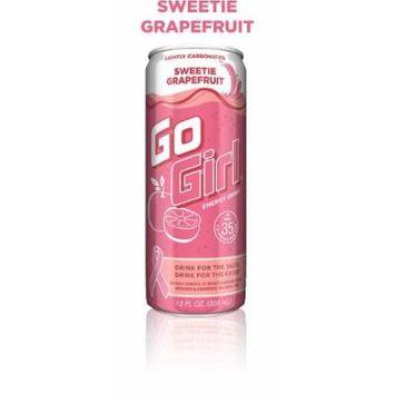 16 Pack - Go Girl Energy Drink - Sweetie Grapefruit - 12oz.