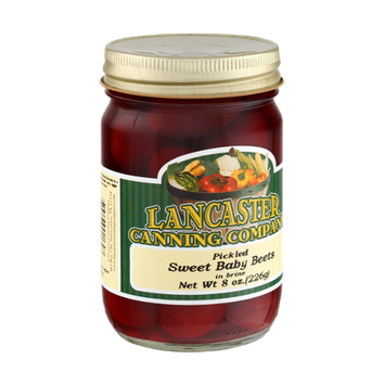 Lancaster Canning Company Pickled Sweet Baby Beets