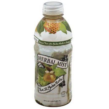 Herbal Mist Green Tea with Yerba Mate & Honey, 20 fl oz, (Pack of 20)