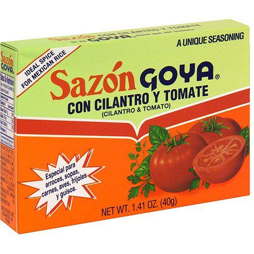 Goya® Sazon Cilantro & Tomato Seasoning
