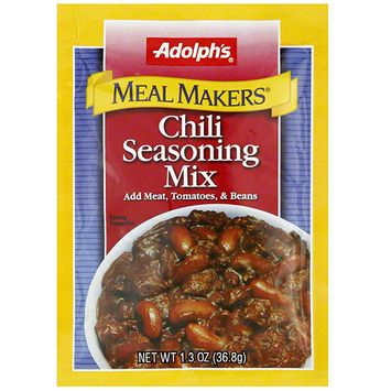 Adolph's Meal Makers Chili Seasoning Mix, 1.3 oz (Pack of 24)