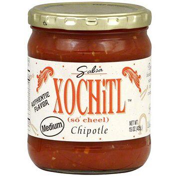 Xochitl Chipotle Medium Salsa, 15 oz (Pack of 6)