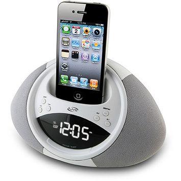 iLive Clock Radio w/ iPhone and iPod Dock ICP122W