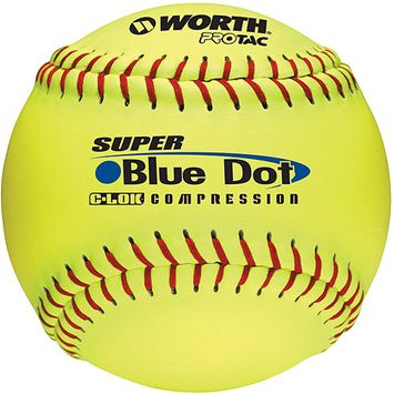 Worth Sports Yellow PRO TAC Ball - 1 dz, 12 in.