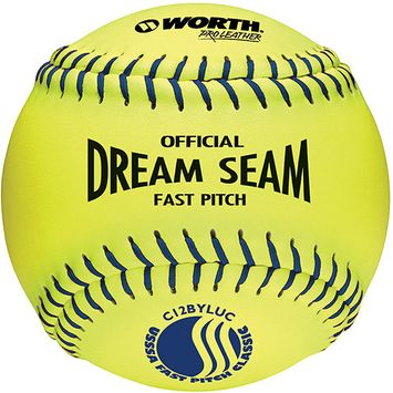 Worth Pro Leather Official USSSA Dream Seam 12