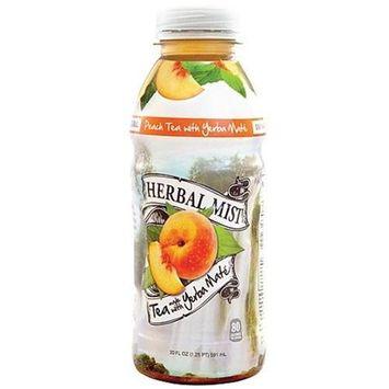 Herbal Mist Peach Tea With Yerba Mate - Bottles (Pack of 12)