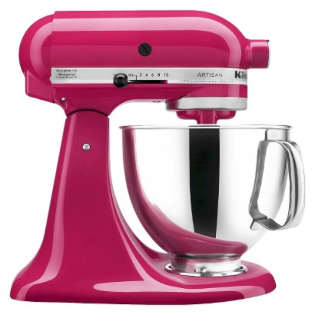 KitchenAid Artisan 5 Qt Stand Mixer- Cranberry KSM150
