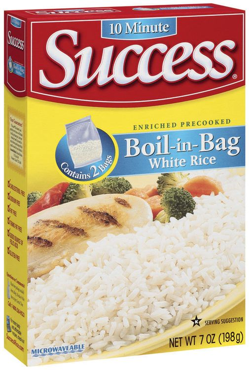 Image result for Cook boil-in-bag rice with ease