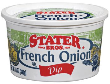 Stater bros French Onion Dip