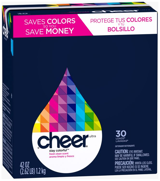 Cheer Ultra Fresh Clean Scent Powder Laundry Detergent