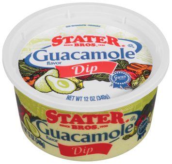 Stater bros Guacamole Flavor Dip