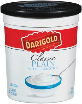 Darigold Classic Plain W/Probiotics Lowfat Yogurt
