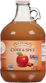rw Knudsen Family® Cider & Spice 100% Juice