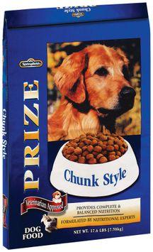 Springfield Prize Chunk Style Dog Food