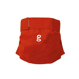 gDiapers gPant Grateful Red