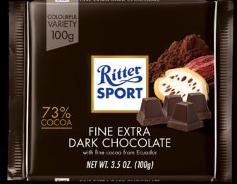 Ritter Sport Extra Fine Dark Chocolate