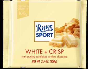 Ritter Sport White + Crisp