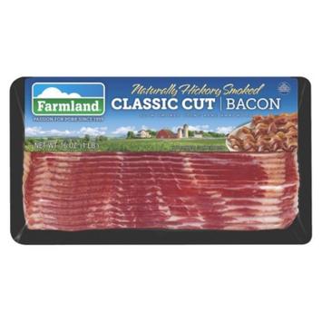 Farmland Naturally Hickory Smoked Classic Cut Bacon