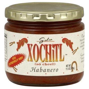 Xochitl XXX Hot Habanero Salsa, 11.5 Ounce -- 12 per case.
