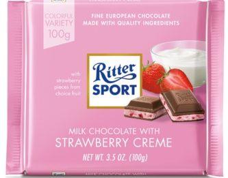 Ritter Sport Bars Strawberry Creme