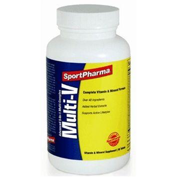 SportPharma Multi-V Multivitamin, Tablets, 90 ea