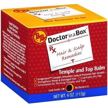 Bronner Brother's Doctor in a Box Temple & Top Balm