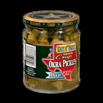Talk O' Texas Okra Pickles Crips Mild