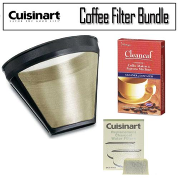 Cuisinart Gold Tone GTF Coffee Filter Kit
