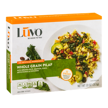 Luvo Whole Grain Pilaf with Brown Rice, Quinoa, Kale, Artichokes & Zucchini