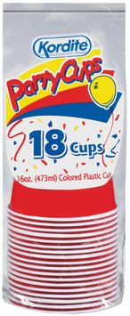 KORDITE CUPS Party Cups-Colors Plastic Cups
