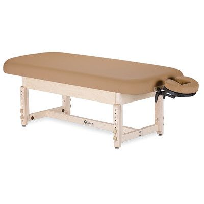 Earthlite Sedona Stationary Table with Shelf Color: Mountain Mist