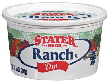 Stater bros Ranch Dip