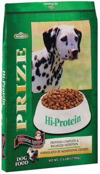 Springfield Prize Hi-Protein Dog Food