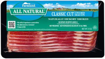 Farmland® All Natural* Classic Cut Uncured Bacon