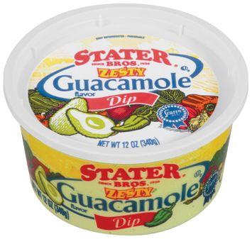 Stater bros Zesty Guacamole Flavor Dip