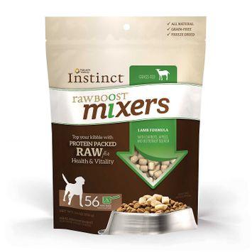 Natures Variety Instinct Raw Boost Mixers Dog Food Enhancer Grain Free, Freeze Dried, Lamb