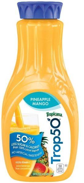 Tropicana® Trop50 Pineapple Mango