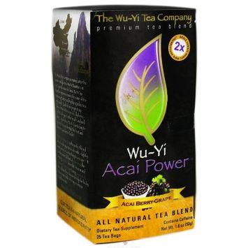 The Wu-yi Tea Company The Wu Yi Tea Company Tea Acai Grape Power, 25-Count