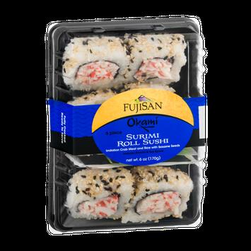 Fujisan Okami Surimi Roll Sushi - 6 Piece