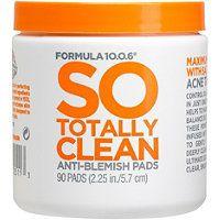 Formula 10.0.6 So Totally Clean Anti-Blemish Pads