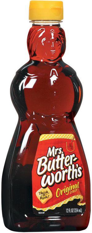 mrs Butterworth's Original Syrup
